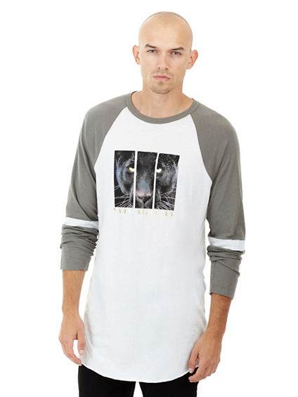ELONGATED MENS RAGLAN