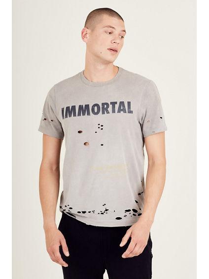 DISTRESSED IMMORTAL MENS TEE