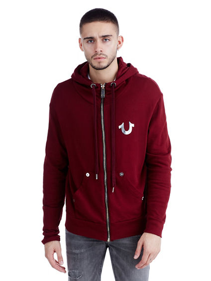 CORE ZIP UP MENS HOODIE