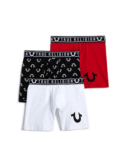 U LOGO BOXER BRIEF - 3 PACK