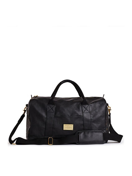 VEAGAN LEATHER DUFFLE