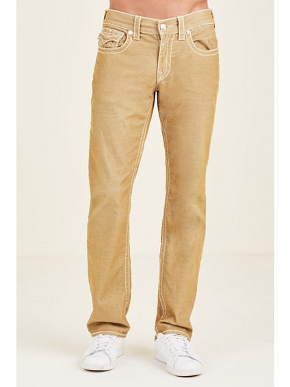 STRAIGHT CORDUROY BIG T  MENS PANT