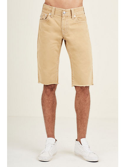 STRAIGHT FIT NATURAL BIG T SHORT