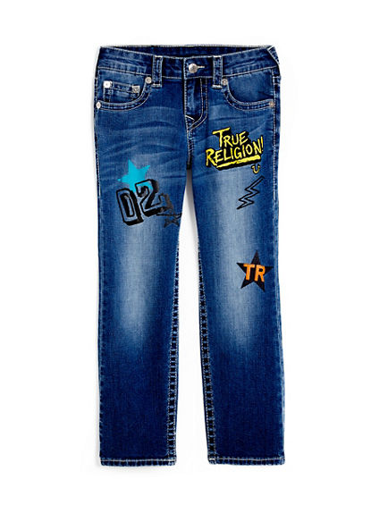 STRAIGHT FIT SE KIDS JEAN