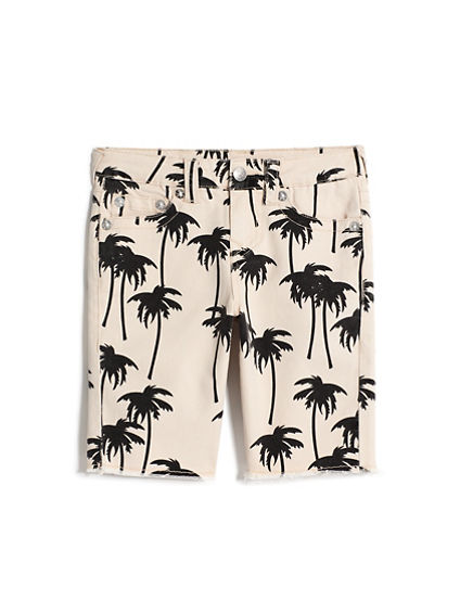 BOYS PALM TREE SHORT