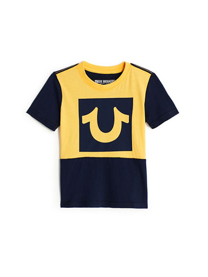 BOYS COLORBLOCK TEE