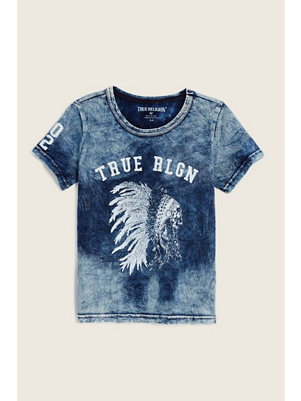 NATIVE HEADDRESS KIDS TEE