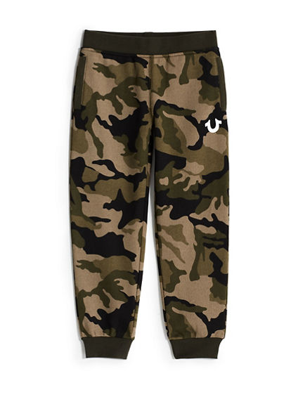 BOYS CAMO SWEATPANT