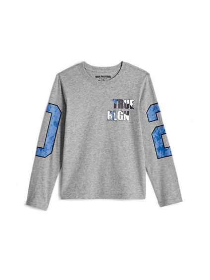 BOYS TR LONG SLEEVE TEE