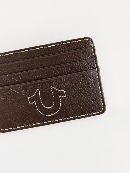TRUE LEATHER CARD HOLDER