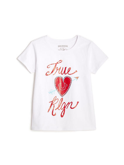 LITTLE KIDS TRUE HEART TEE