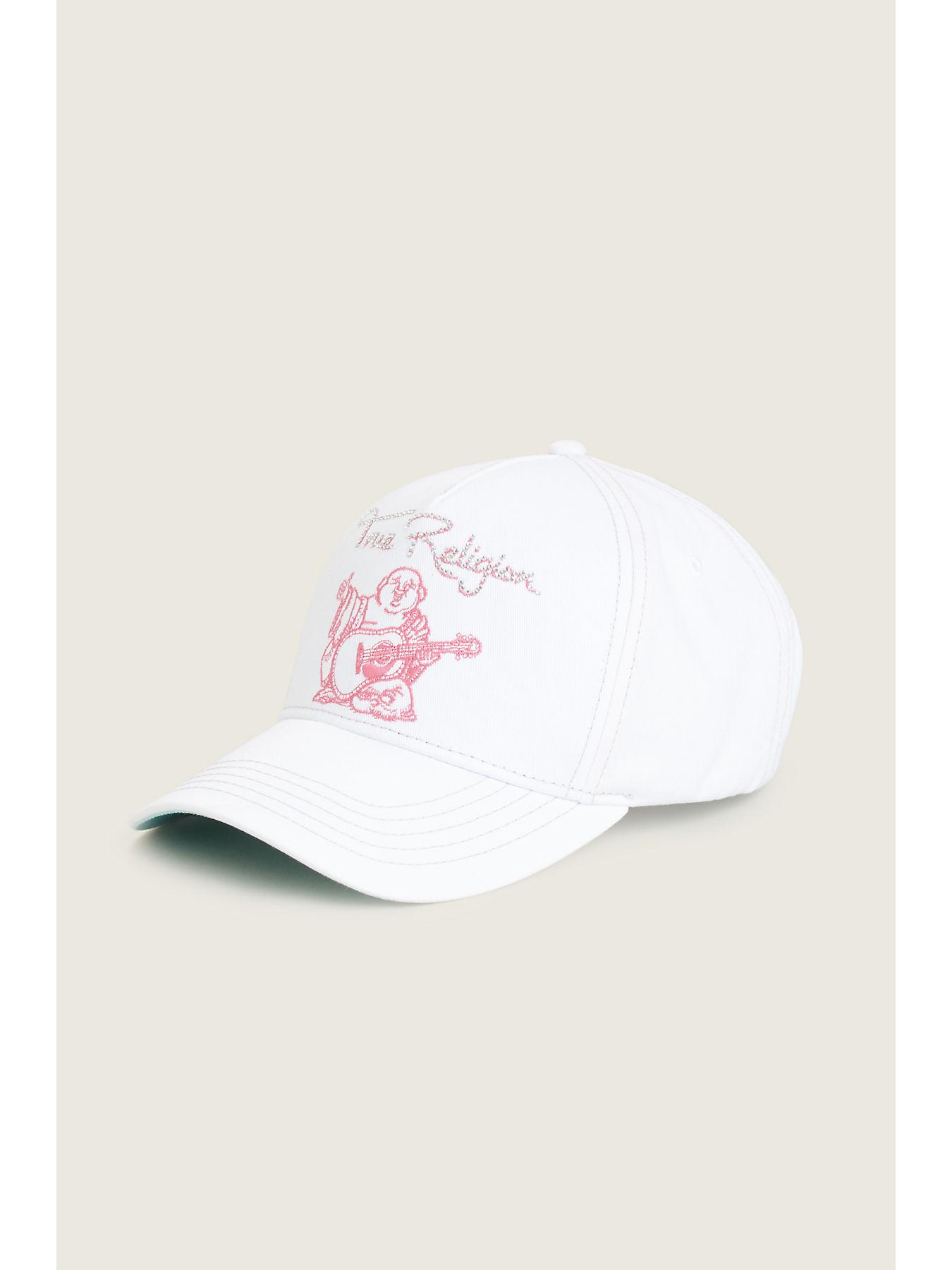 35636683 CRYSTAL SCRIPT BASEBALL WOMENS HAT - True Religion