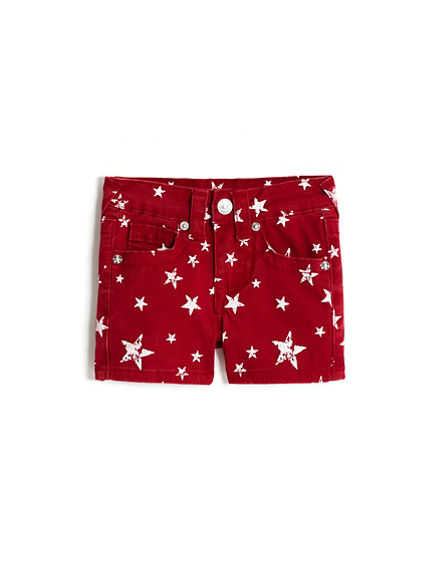 GIRLS STAR SHORTS