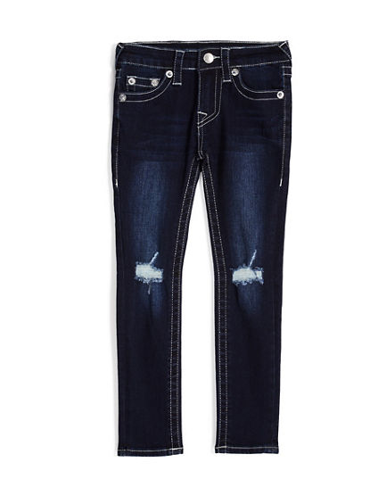SKINNY FIT RIPPED JEAN