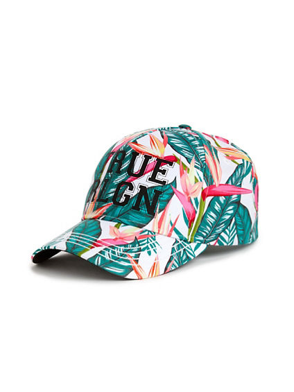 WOMENS ALLOVER FLORAL HAT