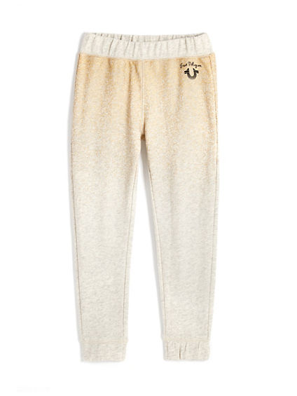 GOLD FOIL SWEATPANT