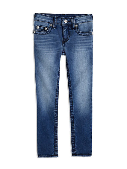 GIRLS SKINNY BIG T JEAN