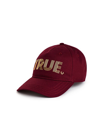 TRUE METAL BASEBALL CAP