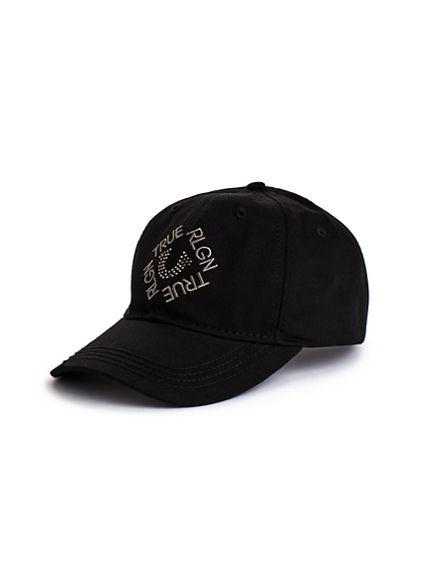 CRYSTAL LOGO BASEBALL CAP