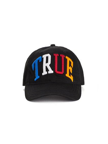TRUE EMBROIDERED BASEBALL CAP