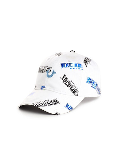 MIXED NAME LOGO CAP