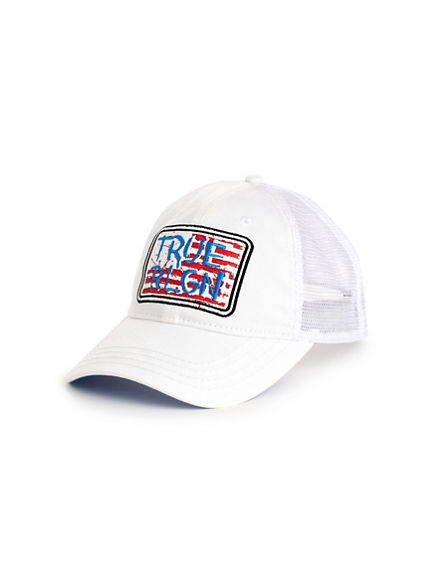 FLAG TRUCKER HAT