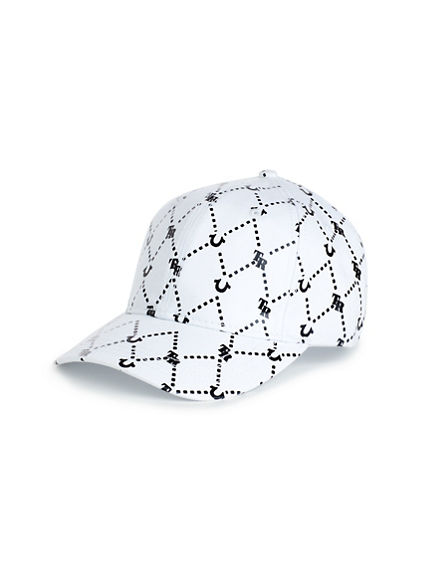 GRID REPEAT BASEBALL CAP