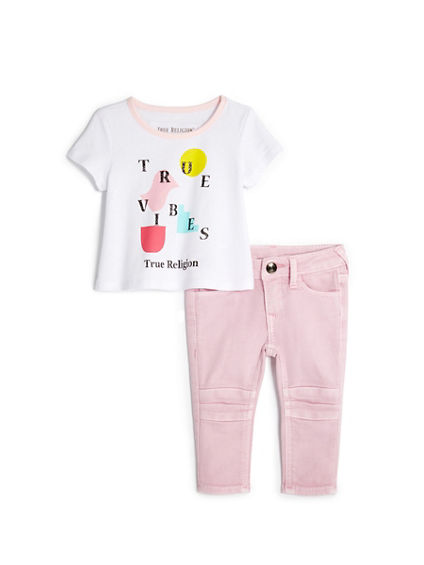 INFANT TRUE VIBES BABY SET