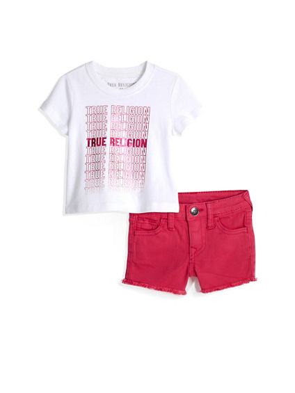 REPEAT TEE BABY SET