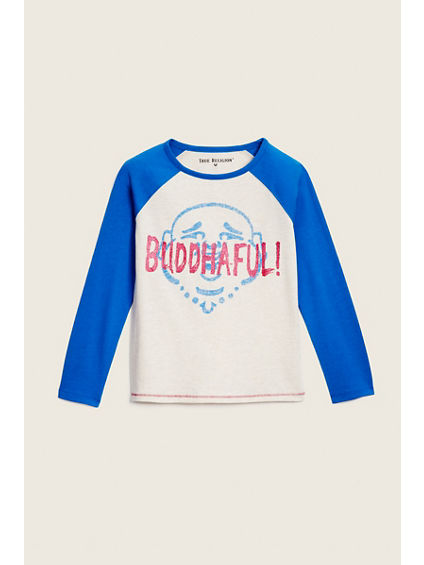 TRUE TODDLER/LITTLE KIDS RAGLAN