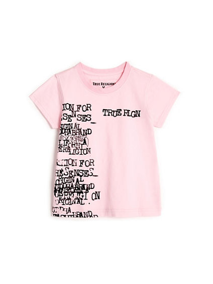 TODDLER/LITTLE KIDS TYPEWRITER GRAPHIC TEE