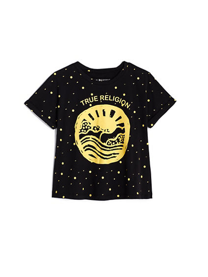 GIRLS SUNSET TEE