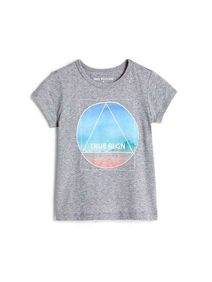 GIRLS TRIANGLE TEE
