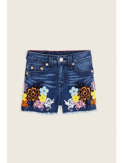 HIGH WAISTED TODDLER/KIDS SHORT