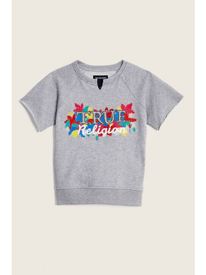 RAW EDGE TODDLER/KIDS PULLOVER