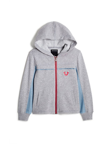 TODDLER/LITTLE KIDS SPORTY HOODIE