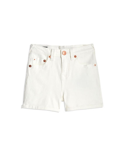 TODDLER/LITTLE KIDS HIGH WAISTED SHORT