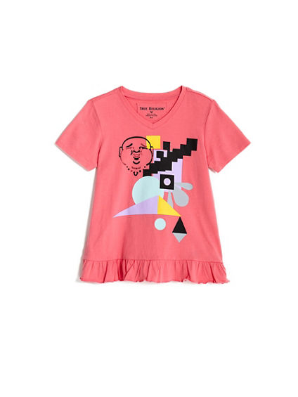 TODDLER/LITTLE KIDS GEOMETRIC TEE