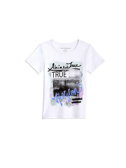 TODDLER/BIG KIDS MULTIMEDIA TEE