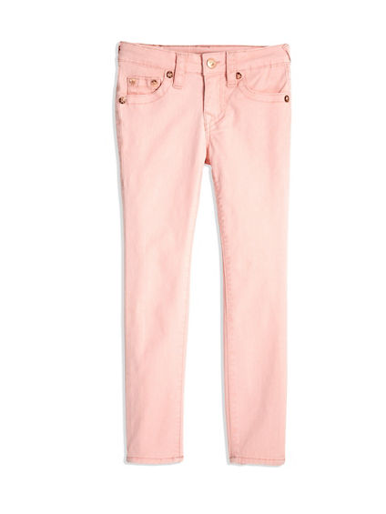 GIRLS COLOR TWILL HALLE SUPER SKINNY JEAN