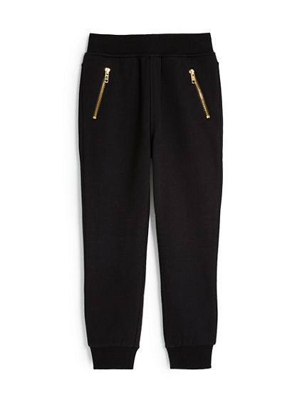 TODDLER/LITTLE KIDS FRENCH TERRY MOTO SWEATPANT