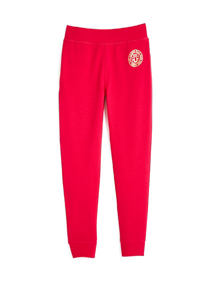 TODDLER/LITTLE KIDS FRENCH TERRY CREST SWEATPANT