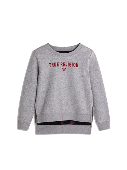 GIRLS HIGH LOW PULLOVER
