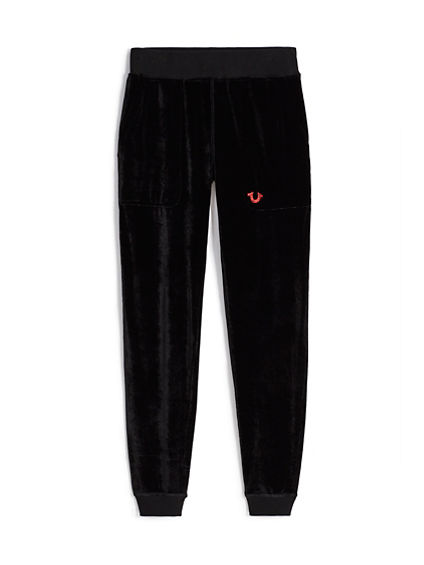 KIDS LOGO VELOUR PANT