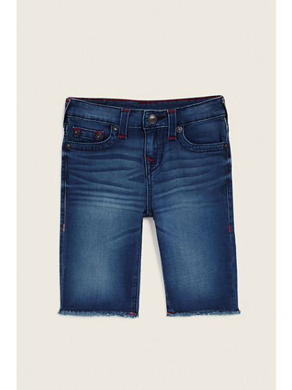 DENIM SLIM TODDLER/LITTLE KIDS GENO SHORT