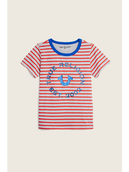 STRIPED TODDLER/LITTLE KIDS TEE