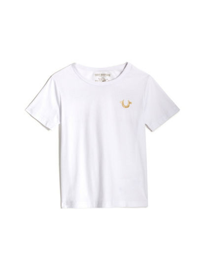 GOLD BUDDHA LOGO TODDLER/LITTLE KIDS TEE