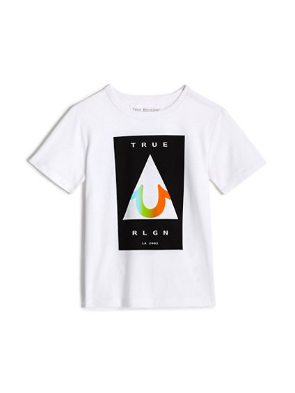 GRADIENT TRIANGLE TEE
