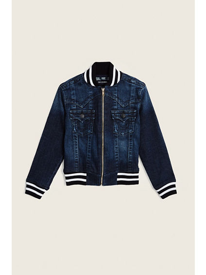 TODDLER/LITTLE KIDS VARSITY JACKET