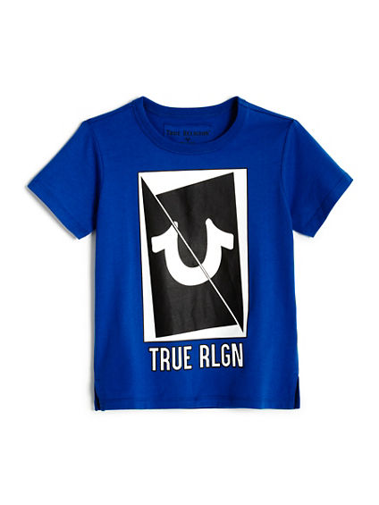 TODDLER/LITTLE KIDS LONG SLICED HS TEE